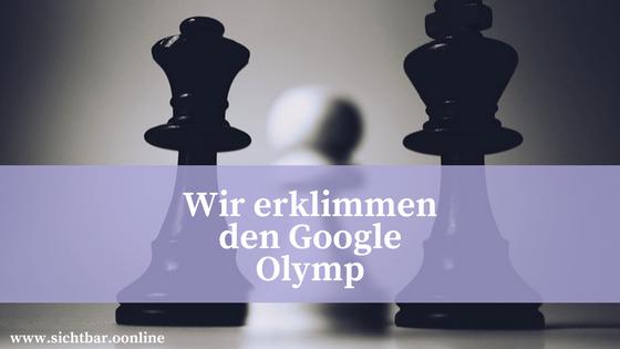 Suchmaschinenoptimierung unser Weg in den Google-Index