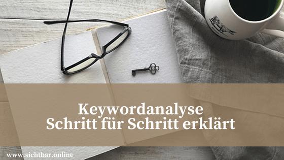 Keywordrecherche