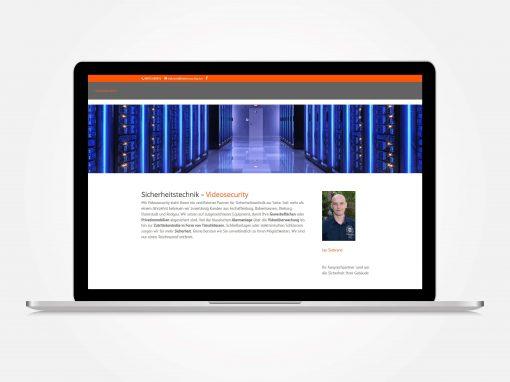 Webdesign Sicherheitstechnik