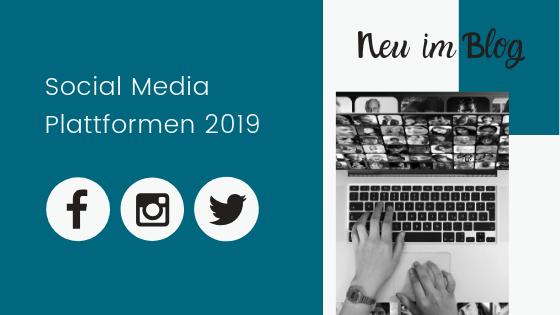 Social Media Plattformen 2019